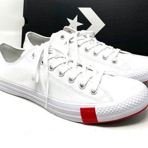 Converse Chuck Taylor All Star Canvas Low White M
